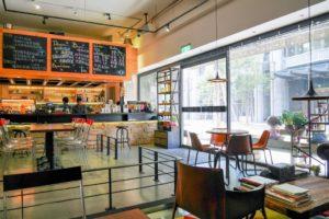 【台北內湖 | 咖啡廳】融入IT人精神的美式設計風格咖啡廳☞IT Cafe' (內湖店)