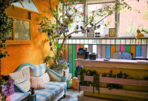 【台北迪化街 | 咖啡廳】老城街區中的祕密花園❀D.G. Café