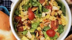 【小蔬房手作】酪梨芥末義大利麵沙拉 ✤超上相網美規格蔬食野餐✤