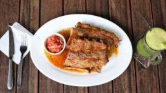 【馬來西亞   雪蘭莪Kelana Jaya】Paradigm Mall隱藏美食★ SOP Bar & Bistro   西班牙豬肉鮮美多汁,讓你一口接一口!