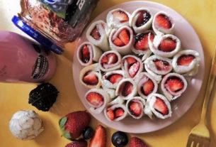 【小蔬房手作】戀愛感草莓甜心捲 ✤超上相網美規格蔬食野餐✤ Vol. 2