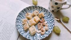 【奶與蜜花園】營養又簡單的豆漿料理:豆漿蒸鬆糕 #豆漿食譜#低糖料理