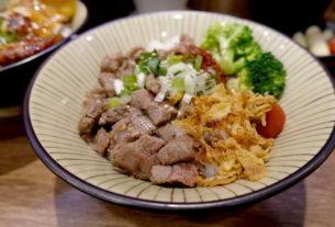 【桃園 | 丼飯】千夜一夜干❤最好吃的一夜干就在龜山神社,使用高成本的茶葉、鹽麴、優勝米、最療癒的水族箱魚兒