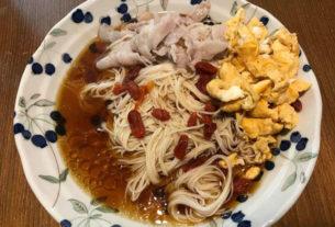 【光之靈性部落 | 食譜】麻油麵線+梅汁蒸魚