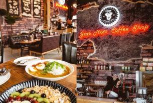 【台中】齒輪咖啡Gear Moto Cafe Shop ▎哈雷重機主題咖啡館│重機與美食雙重享受。